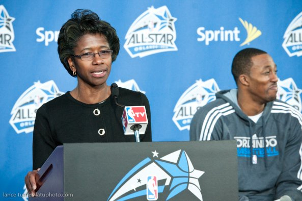 online store fbc77 1f9be Gail Hunter, NBA Senior Vice President, Events   Attractions, NBA All-Star