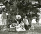 [Group photo of cowboys at Rancho Santa Anita, ca. 1890]
