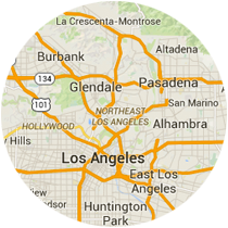 Map: Los Angeles