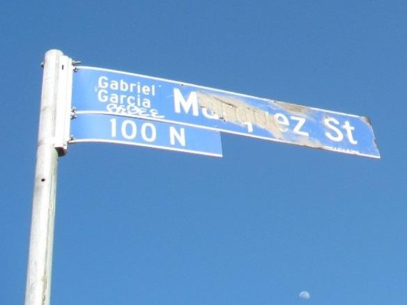 Gabriel Garcia Marquez Street