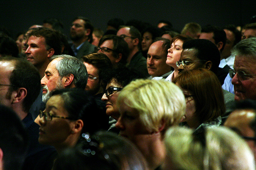 Journalism panel audience