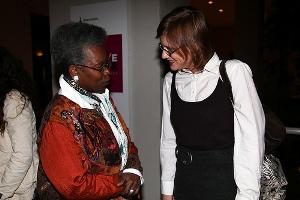 Erika Schickel and guest