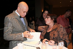James Ellroy and guest