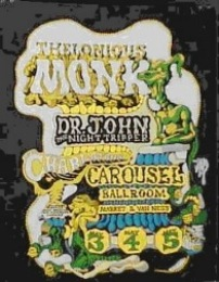 Carousel Hall concert poster