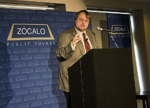 Keynote speaker Luis Alberto Urrea