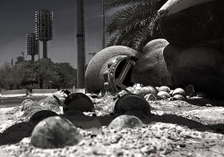 Iraqi monument