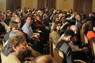 Audience at the Green Jobs conference