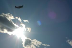 World War II era plane