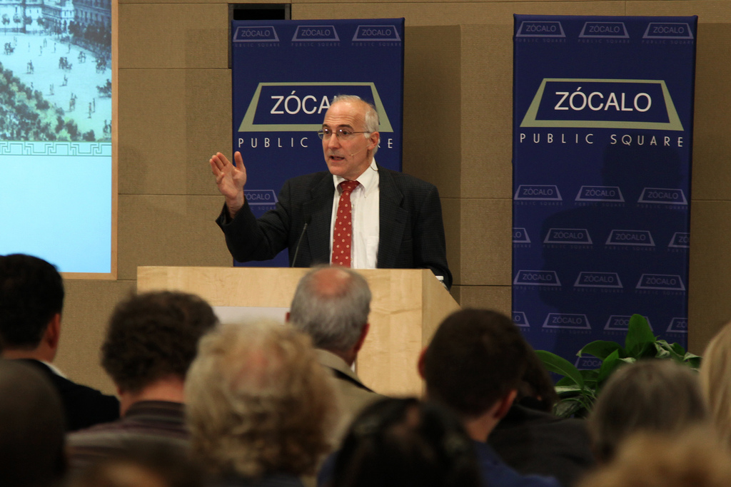 Steven Solomon at Zócalo at the RAND Corporation