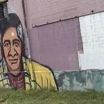 Cesar Chavez mural in Austin, Texas