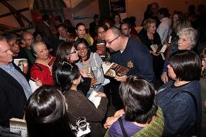 Carlos Ruiz Zafon and guests