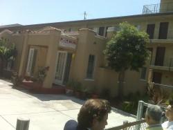 Charles Bukowski's DeLongpre home