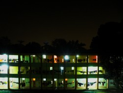 Student housing, Indian Institute of Technology at Mumbai