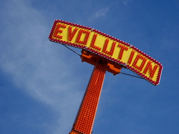 Evolution, the ride