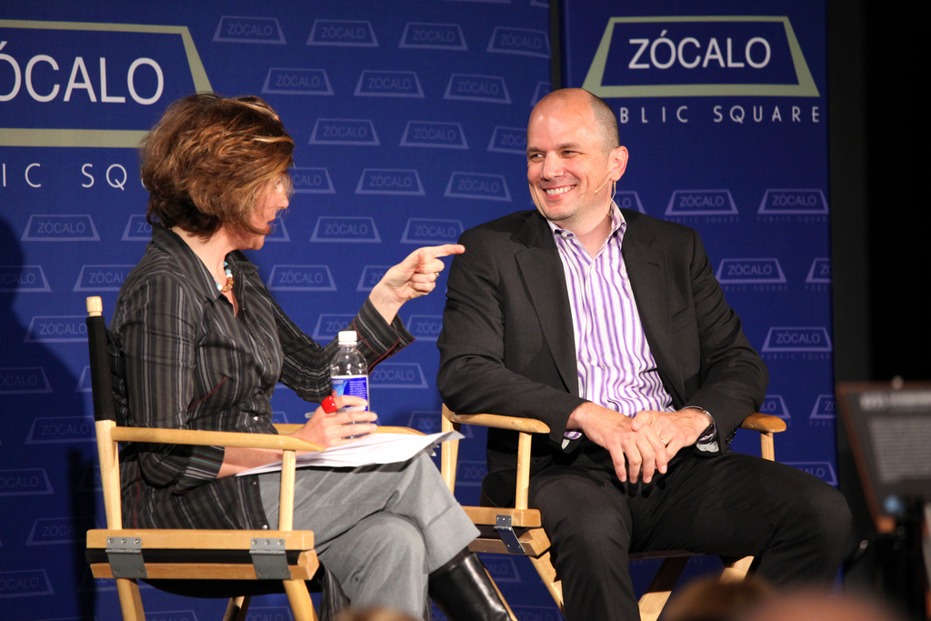 Frances Anderton and Michael Maltzan at Zócalo