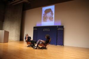 Salomón Huerta and David Pagel at Zócalo at MOCA