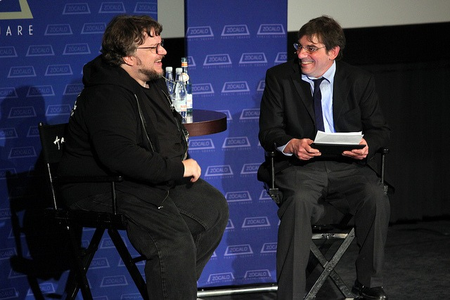 Guillermo del Toro and Rick Kleffel