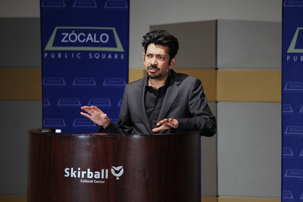 Siddhartha Mukherjee at Zócalo at the Skirball Cultural Center