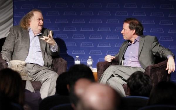 Jonathan Gold and Adam Gopnik