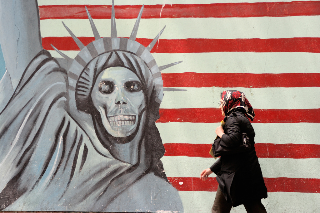 Former U.S. embassy, Iran