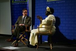 Kal Raustiala and Wangari Maathai