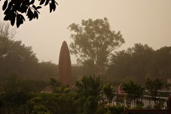 dust in India