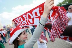 A Poland Euro Cup fan