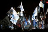 Argentina presidential reelection celebration