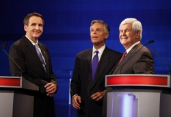 Tim Pawlenty, Jon Huntsman, Newt Gingrich