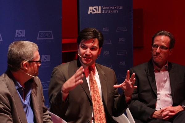 Greg Esser, Jonathan Koppell, Wellington Reiter