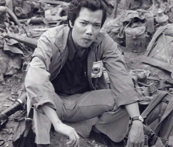 The author's father, Phu Cat, Vietnam, 1974