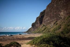 Polihale State Beach Park in Kauai