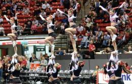 San Diego State cheerleaders
