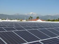Solar panels in Covina