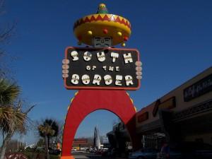 South of the Border Where I Go