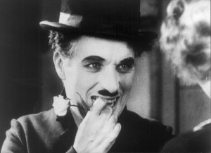 "Charlie Chaplin in ""City Lights,"" a United Artists production"