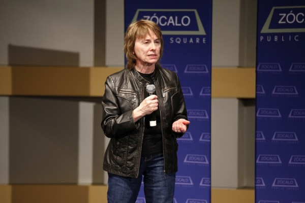 Camille Paglia at the Skirball