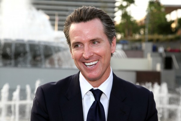 Gavin Newsom_Green Room