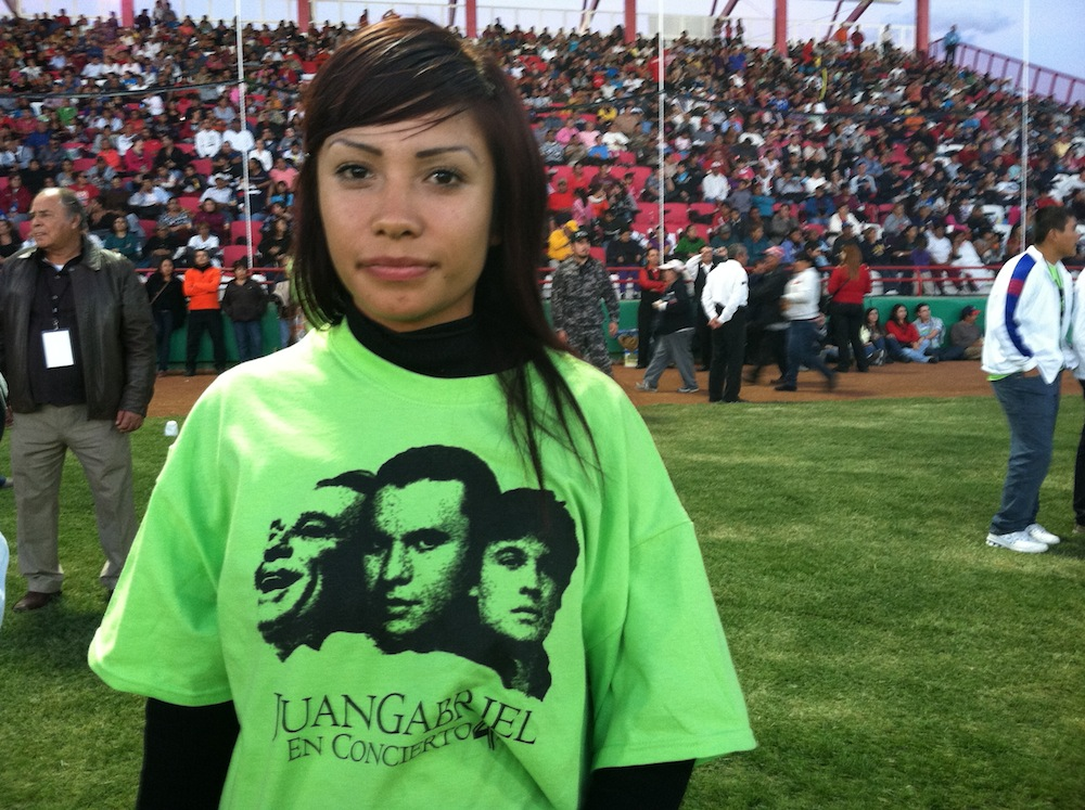 A Juan Gabriel fan. Photo by Angela Kocherga