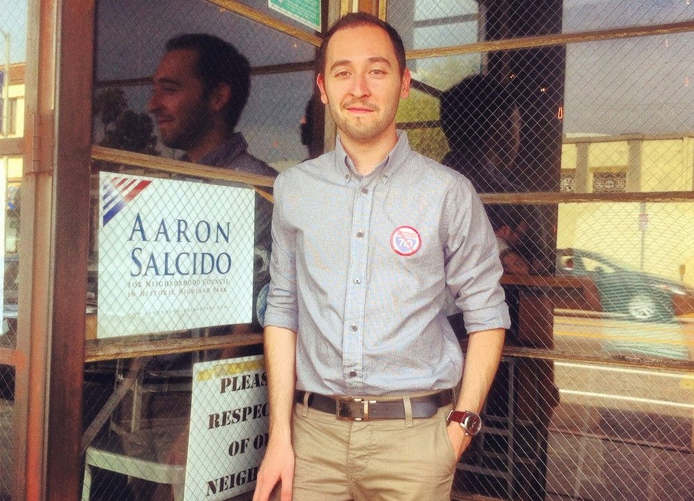 Aaron Salcido running for office