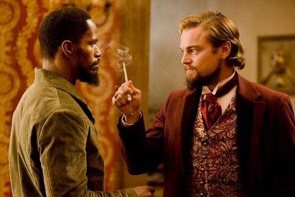 Django Unchained Foxx & DiCaprio