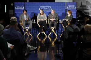 Caz Pereira, Sarah Armstrong, Jay Mathews, and Jennifer Ouellette