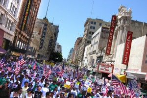 Thousands march for immigration reform in Boston, MA