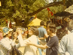 Revelers at a 1970s Renaissance Faire