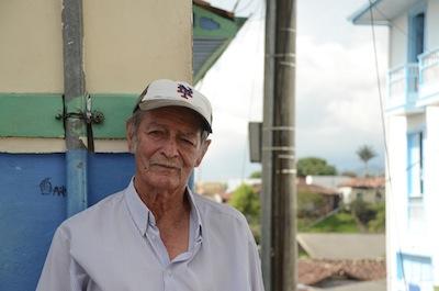 Victor Cañas in Salento