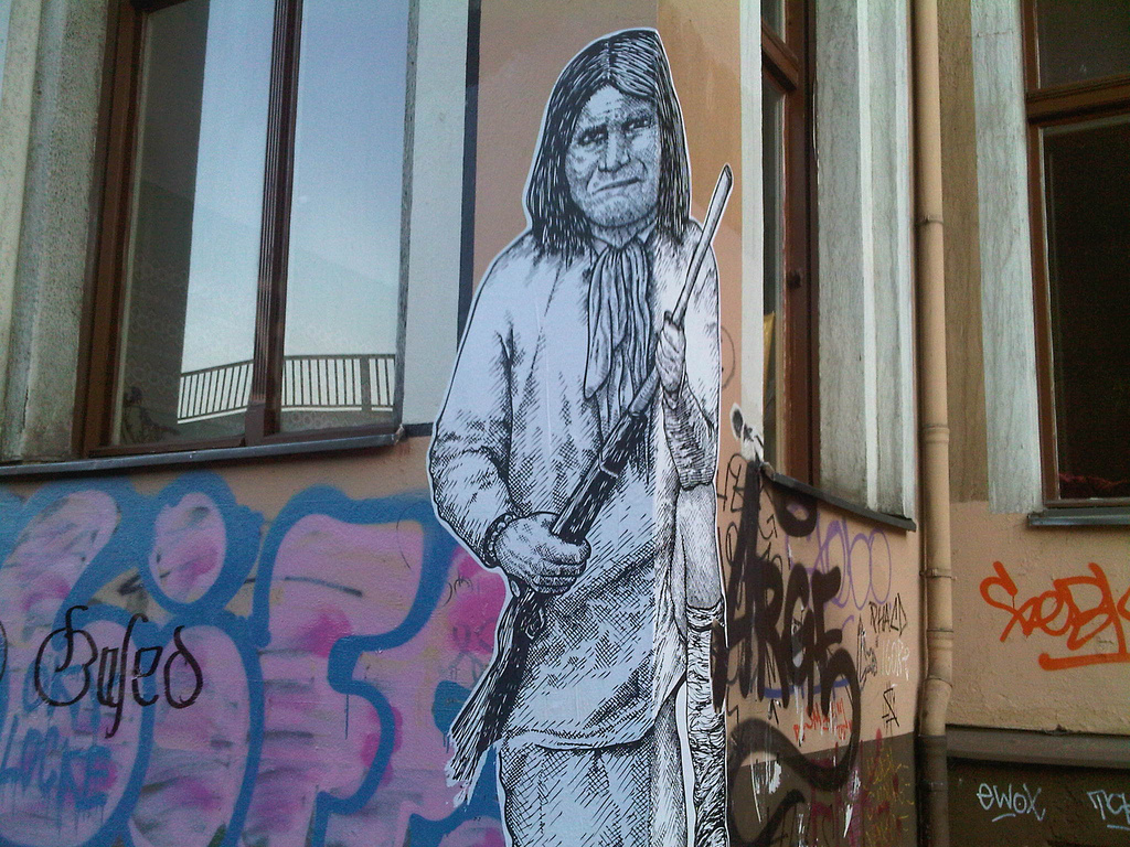 why we keep saying geronimo who we were zocalo public square when it comes to the most famous native american it s the myth not reality that survived