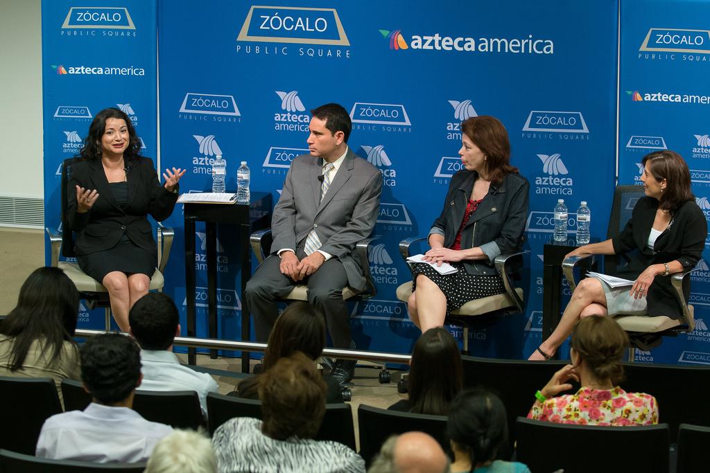 Macarena Hernandez, Tony Payan, Angela Blanchard, Claudia Kolker