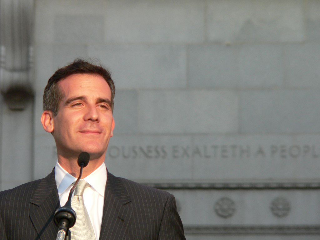 When Did Eric Garcetti Turn Jewish?