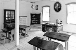 Classroom in Russia
