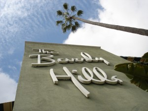 The iconic Beverly Hills Hotel